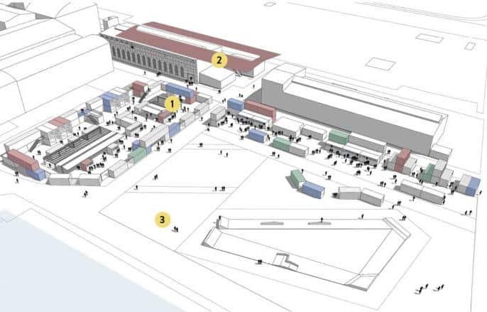 Reffen Street Food Market Floor Plan